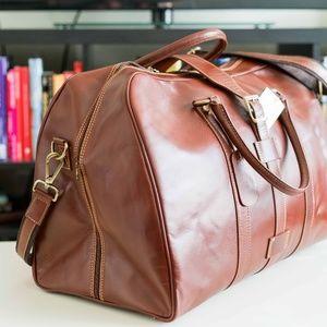 b15058ed6d Persaman New York Bags - PERSAMAN NEW YORK SANTINO SADDLE LEATHER COGNAC
